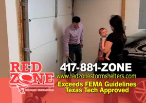 red zone storm shelters